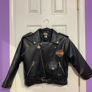 Harley-Davidson Kids Leather Jacket